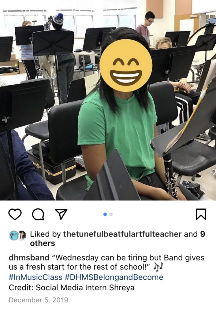 DHMS Band on instagram